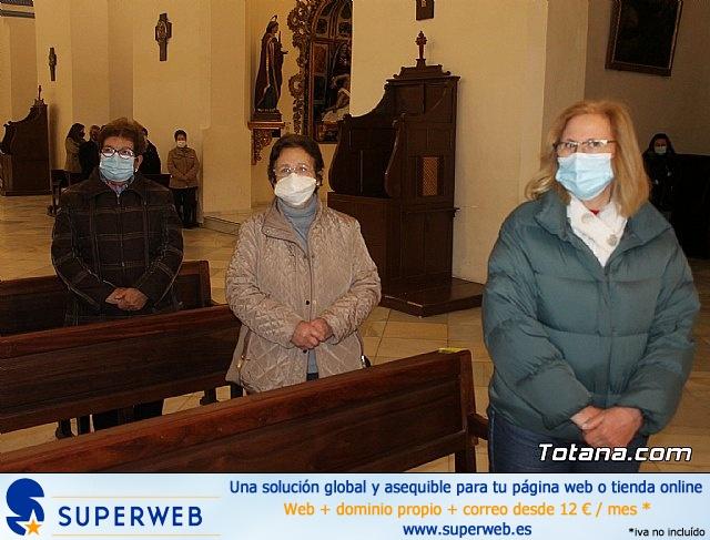 Santa Misa, Día de la Inmaculada Concepción, con la presencia de Santa Eulalia. 8 diciembre 2020 - 20