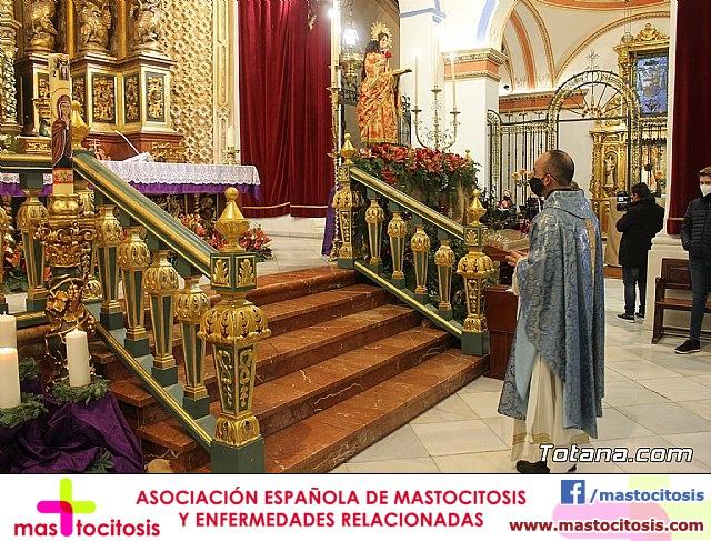 Santa Misa, Día de la Inmaculada Concepción, con la presencia de Santa Eulalia. 8 diciembre 2020 - 21