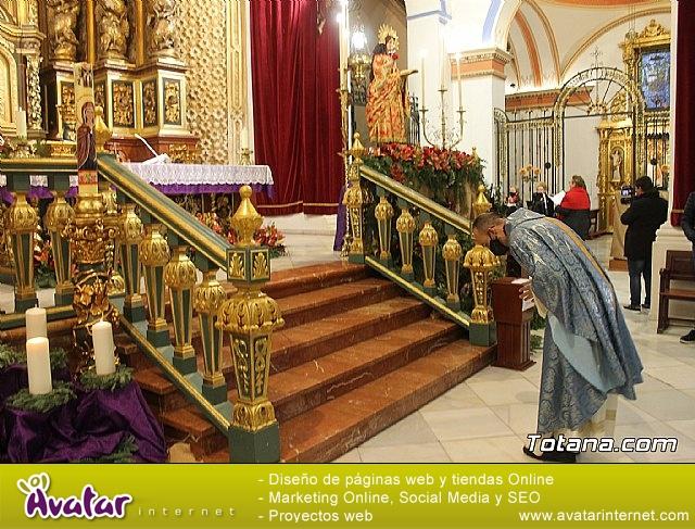 Santa Misa, Día de la Inmaculada Concepción, con la presencia de Santa Eulalia. 8 diciembre 2020 - 22
