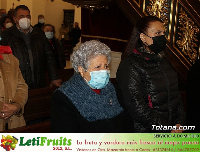 Santa Misa, Día de la Inmaculada Concepción, con la presencia de Santa Eulalia. 8 diciembre 2020 - 25