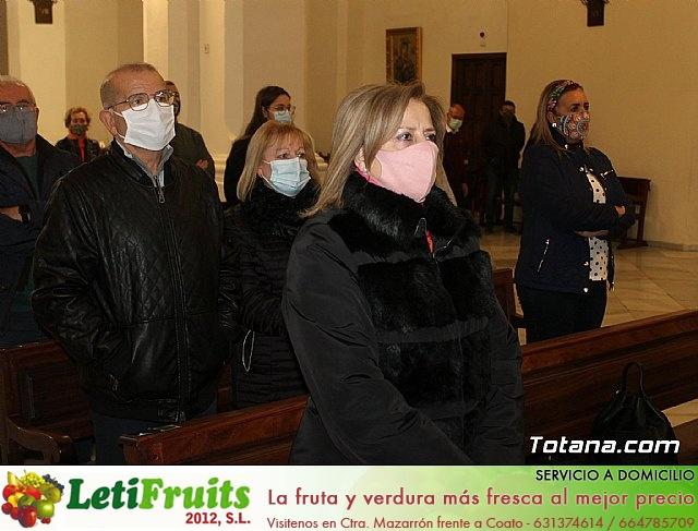 Santa Misa, Día de la Inmaculada Concepción, con la presencia de Santa Eulalia. 8 diciembre 2020 - 35