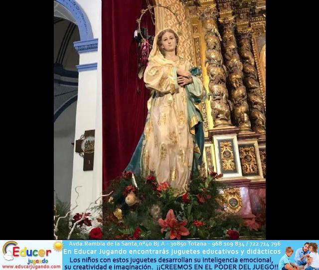Santa Misa, Día de la Inmaculada Concepción, con la presencia de Santa Eulalia. 8 diciembre 2020 - 165