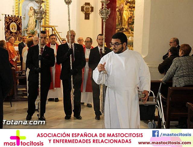 El obispo de la diócesis de Cartagena preside la misa en la festividad de la Patrona de Totana, Santa Eulalia de Mérida - 2016 - 17