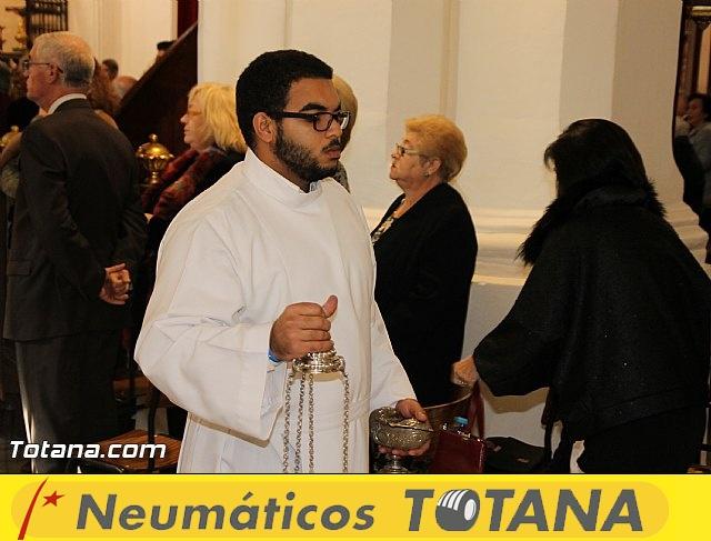El obispo de la diócesis de Cartagena preside la misa en la festividad de la Patrona de Totana, Santa Eulalia de Mérida - 2016 - 19