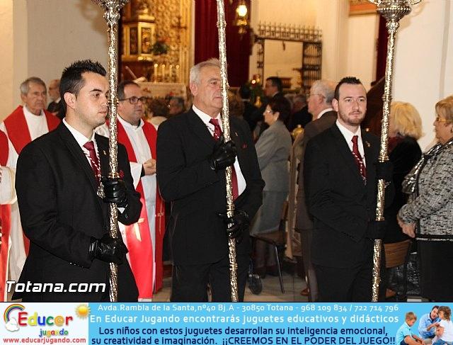 El obispo de la diócesis de Cartagena preside la misa en la festividad de la Patrona de Totana, Santa Eulalia de Mérida - 2016 - 20