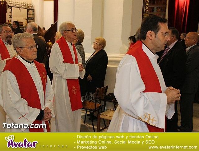 El obispo de la diócesis de Cartagena preside la misa en la festividad de la Patrona de Totana, Santa Eulalia de Mérida - 2016 - 23