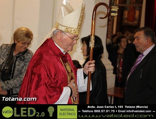 El obispo de la diócesis de Cartagena preside la misa en la festividad de la Patrona de Totana, Santa Eulalia de Mérida - 2016 - 28