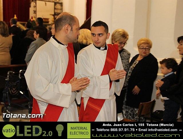 El obispo de la diócesis de Cartagena preside la misa en la festividad de la Patrona de Totana, Santa Eulalia de Mérida - 2016 - 29