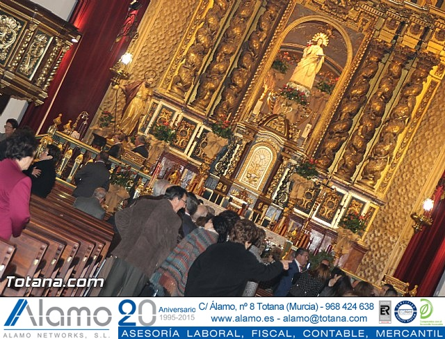 El obispo de la diócesis de Cartagena preside la misa en la festividad de la Patrona de Totana, Santa Eulalia de Mérida - 2016 - 102