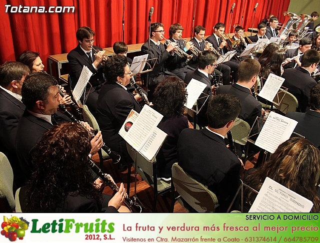 Concierto de la Agrupación Musical de Totana y la Coral Santiago - Fiestas de Santa Eulalia 2013 - 13