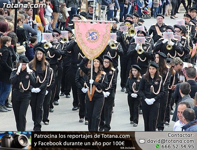 Día de la Música Nazarena - Semana Santa 2016 - Pasacalles y actuación conjunta - 6