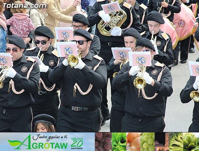 Día de la Música Nazarena - Semana Santa 2016 - Pasacalles y actuación conjunta - 8