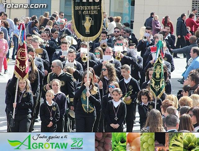 Día de la Música Nazarena - Semana Santa 2016 - Pasacalles y actuación conjunta - 16