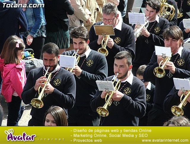 Día de la Música Nazarena - Semana Santa 2016 - Pasacalles y actuación conjunta - 21
