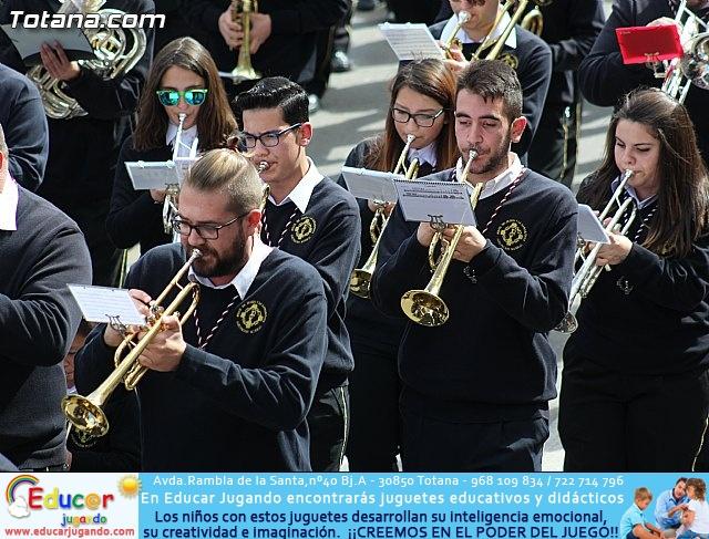Día de la Música Nazarena - Semana Santa 2016 - Pasacalles y actuación conjunta - 24