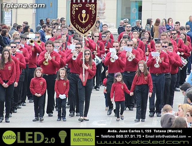 Día de la Música Nazarena - Semana Santa 2016 - Pasacalles y actuación conjunta - 33