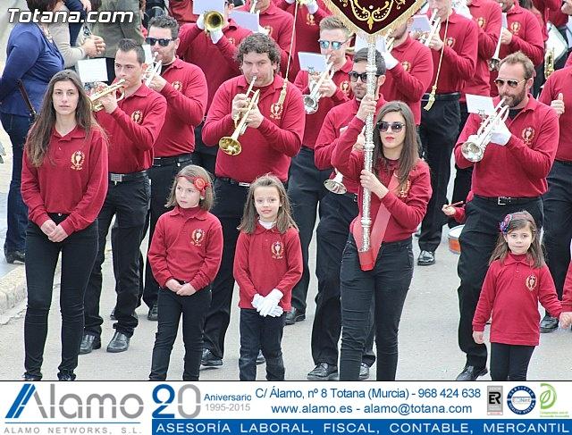 Día de la Música Nazarena - Semana Santa 2016 - Pasacalles y actuación conjunta - 34