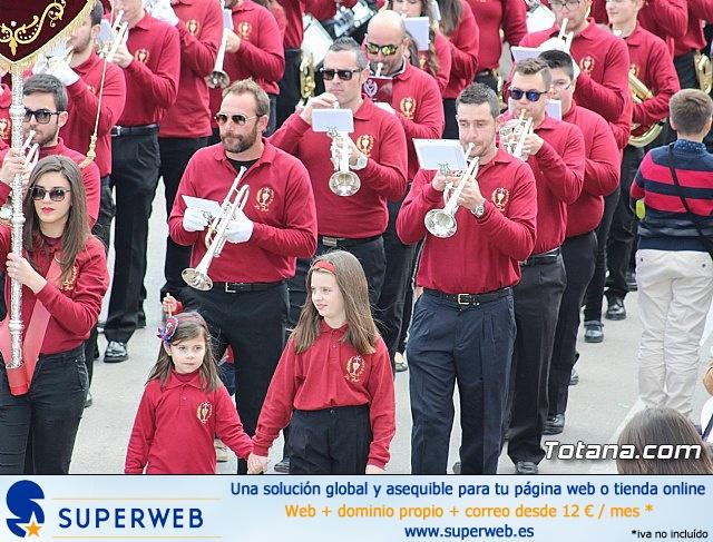 Día de la Música Nazarena - Semana Santa 2016 - Pasacalles y actuación conjunta - 35
