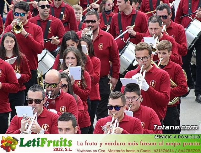 Día de la Música Nazarena - Semana Santa 2016 - Pasacalles y actuación conjunta - 38