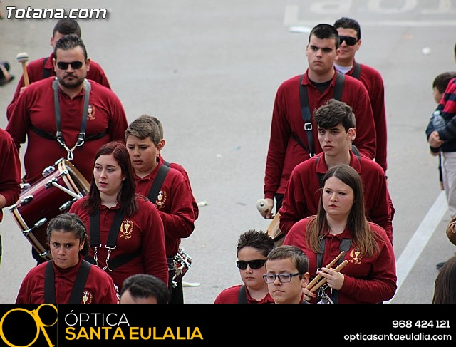 Día de la Música Nazarena - Semana Santa 2016 - Pasacalles y actuación conjunta - 45