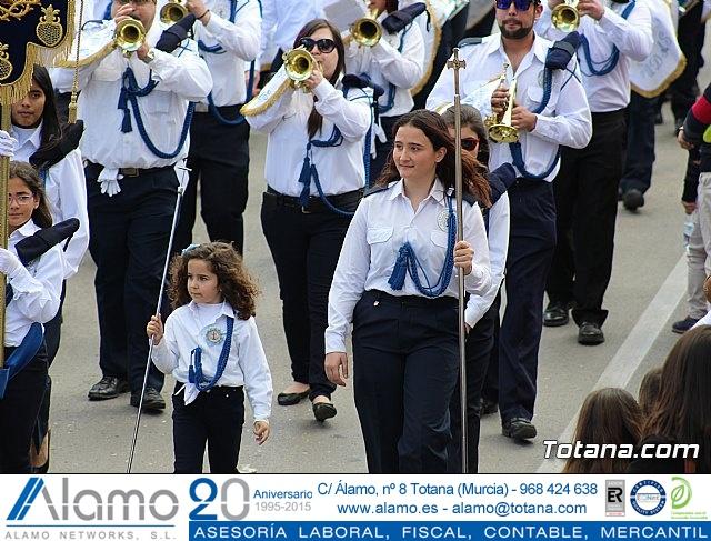 Día de la Música Nazarena - Semana Santa 2016 - Pasacalles y actuación conjunta - 49