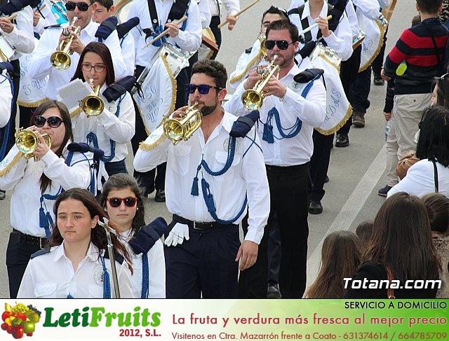Día de la Música Nazarena - Semana Santa 2016 - Pasacalles y actuación conjunta - 50