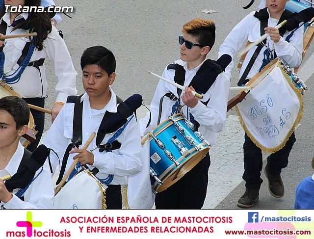 Día de la Música Nazarena - Semana Santa 2016 - Pasacalles y actuación conjunta - 56