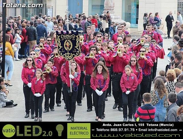 Día de la Música Nazarena - Semana Santa 2016 - Pasacalles y actuación conjunta - 58
