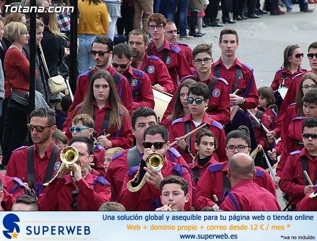 Día de la Música Nazarena - Semana Santa 2016 - Pasacalles y actuación conjunta - 63