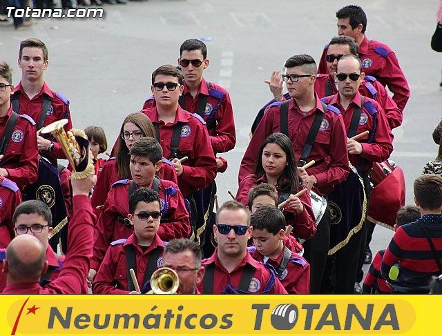 Día de la Música Nazarena - Semana Santa 2016 - Pasacalles y actuación conjunta - 64