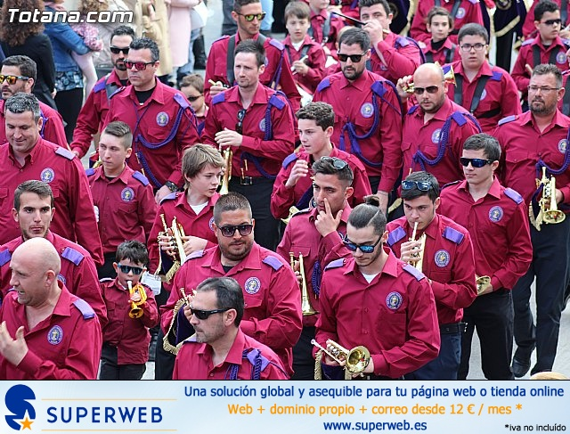Día de la Música Nazarena - Semana Santa 2016 - Pasacalles y actuación conjunta - 66
