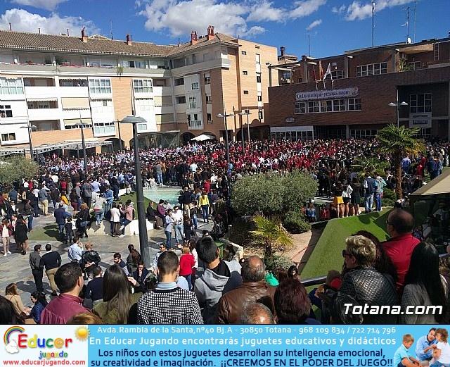 Día de la Música Nazarena - Semana Santa 2016 - Pasacalles y actuación conjunta - 155