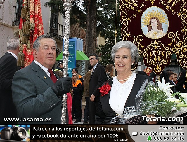 Ofrenda floral a Santa Eulalia 2012 - 2