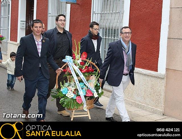Ofrenda floral a Santa Eulalia, Patrona de Totana 2014 - 12