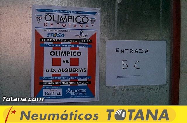 Olímpico de Totana - A.D. Alquerías (5-0) - 2