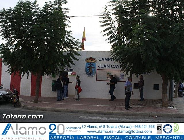 Club Olímpico de Totana Vs Muleño CF 2 - 2 - 1