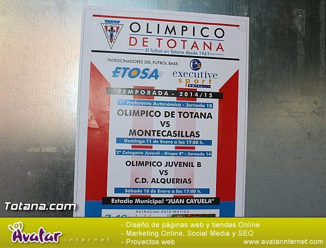 Olímpico de Totana Vs Montecasillas (1-0) - 2