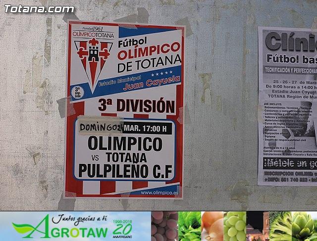 Club Olímpico de Totana - Club Atlético Pulpileño (2-3) - 1
