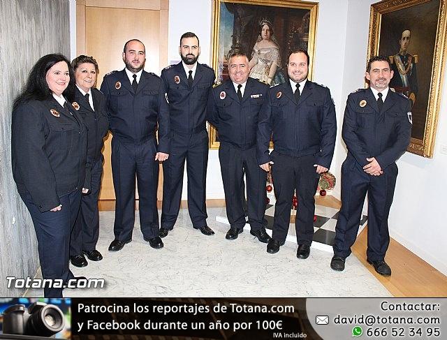 Entrega de condecoraciones a voluntarios de Protección Civil - 1
