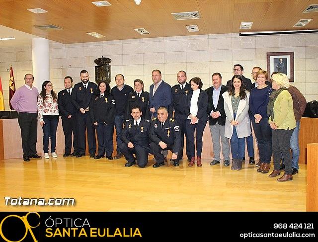 Entrega de condecoraciones a voluntarios de Protección Civil - 41