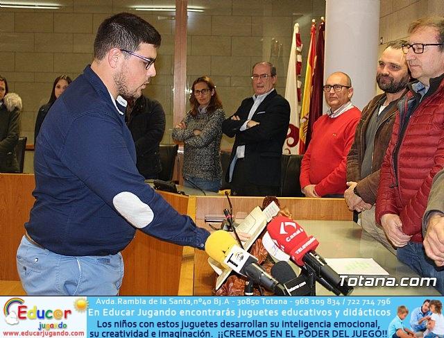 Toman posesión los siete alcaldes pedáneos y la Junta Vecinal de El Paretón-Cantareros para esta legislatura 2019/2023 - 20