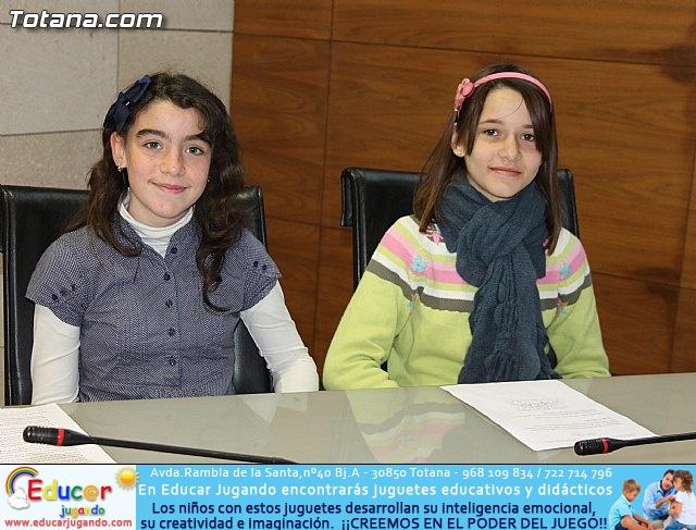 Lectura del manifiesto del Día de los Derechos del Niño 2013 - 14