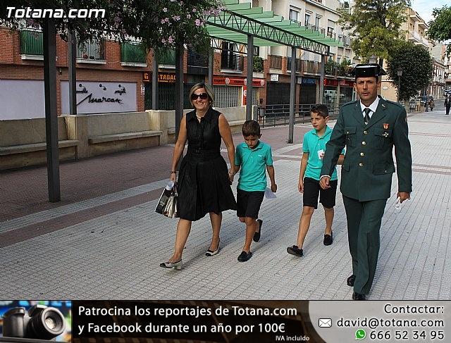 La Guardia Civil celebró la festividad de su patrona la Virgen del Pilar - Totana 2012 - 2
