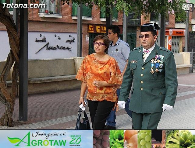 La Guardia Civil celebró la festividad de su patrona la Virgen del Pilar - Totana 2012 - 6