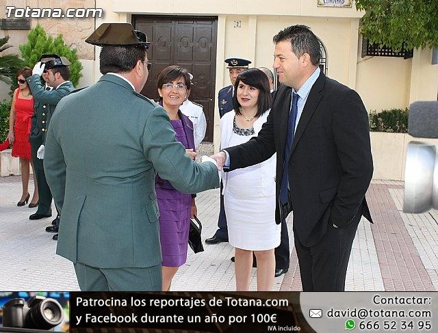 La Guardia Civil celebró la festividad de su patrona la Virgen del Pilar - Totana 2012 - 9