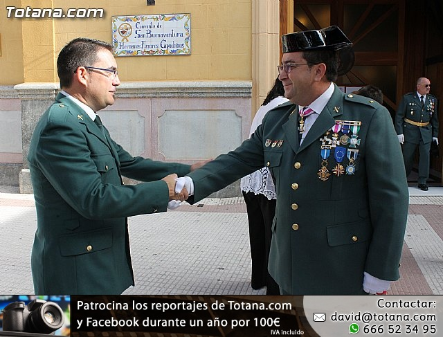 La Guardia Civil celebró la festividad de su patrona la Virgen del Pilar - Totana 2012 - 12