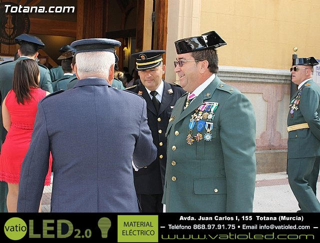 La Guardia Civil celebró la festividad de su patrona la Virgen del Pilar - Totana 2012 - 17