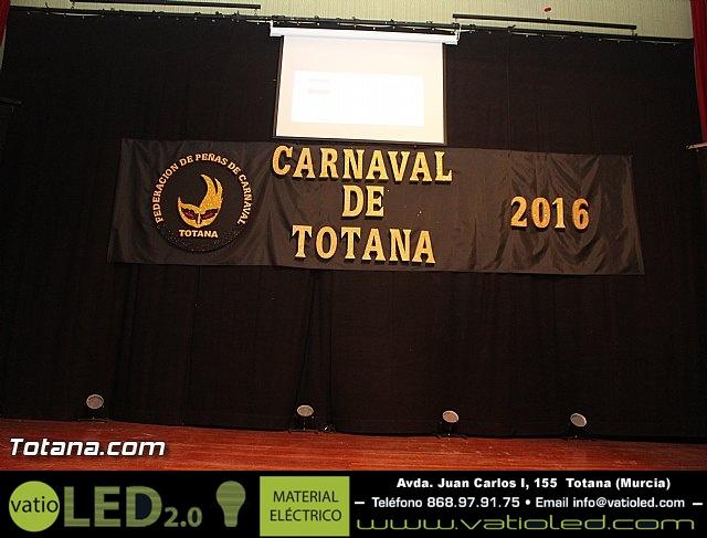 Pregón Carnaval de Totana 2016 - 1