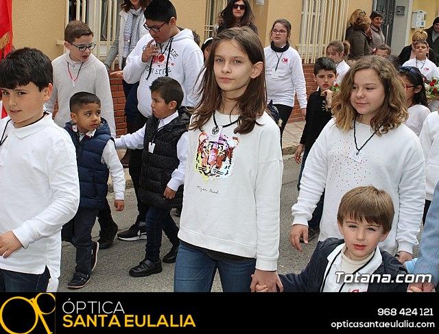 Procesión infantil Semana Santa 2018 - Colegio Santa Eulalia - 6