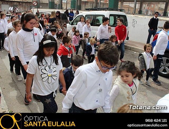 Procesión infantil Semana Santa 2018 - Colegio Santa Eulalia - 9